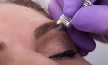 Complete Microblading with Optional Touch-Up Session at The Polished Brow (Up to 72% Off)