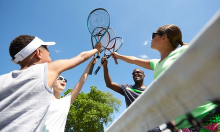 $69 for Five OneHour Tennis Lessons with Court Hire and Coffee at Tennis World, Multiple Locations Up to $315 Value