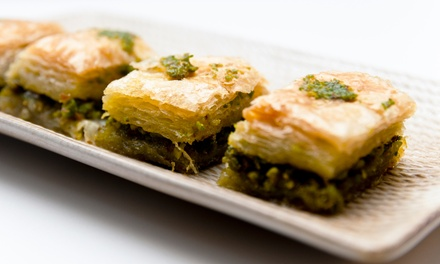 30% Cash Back at Baklava Factory