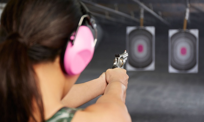 Caswells Shooting Range - Mesa: $48 for a Shooting-Range Package for Two with Handgun Rentals at Caswells Shooting Range ($123 Value)
