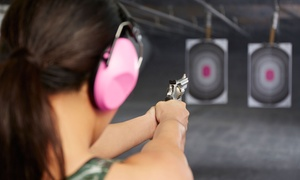 Sgt. Foster's: Basic or Advanced Pistol-Shooting Course or Shooting-Range Package from Sgt. Foster's (Yp to 56% Off)