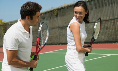 image for Three Tennis Lessons for Adults at Finsbury Park Tennis (Up to 58% Off)