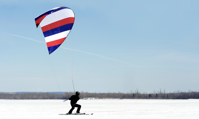 Boost Kiteboarding - West St. Paul: One-Hour Intro to Winter Kiteboarding Lesson for One or Two at Boost Kiteboarding (62% Off)