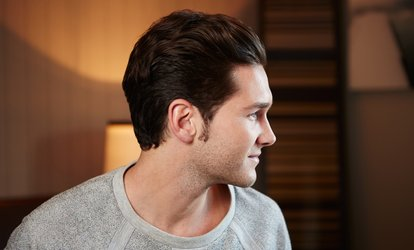 image for Men's Haircut and Finish with Optional Beard Trim at Elite Barbers