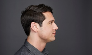 Anim Hair and Beauty Studio: Men's Haircut with Optional Straight-Blade Shave at Anim Hair & Beauty Studio (Up to 68% Off)