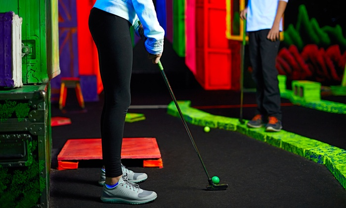Jumping Jacks Indoor Playground & Mini Golf - Dahlonega: 5 or 10 Drop-In Visits or a Kids' Birthday Party at Jumping Jacks Indoor Playground & Mini Golf (Up to 59% Off)