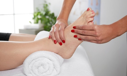60- or 90-Minute Reflexology Session with Ionic Foot Bath or Foot Soak at Well Being (Up to 50% Off)