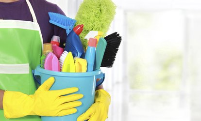 Two or Four Man-Hours of House Cleaning, or Residential Gold Cleaning Package from Xpress Pro (Up to 55% Off)