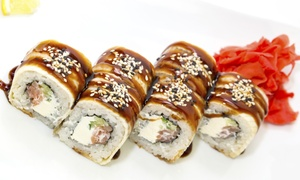 Sushi House: Sushi House – Fleming: 10 ou 20 peças de hot filadélfia