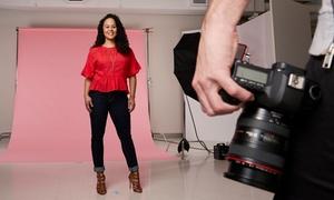 Interstudio: Fotoshoot in studio voor max. 6 personen incl. één afdruk bij bij Interstudio