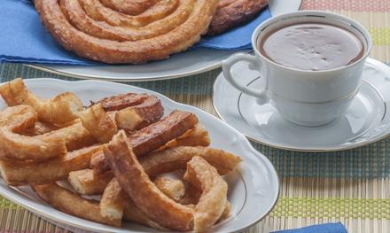 Chocolate con churros para 2 o 4 desde 4 € en Granola España