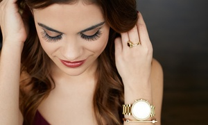 Lasting Lashes with Michelle: Full Set of Silk Mink Eyelash Extensions with 3-Week Fill Option at Lasting Lashes with Michelle (Up to 50% Off)