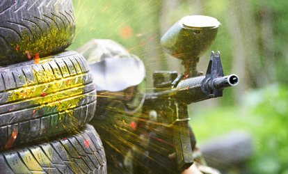 image for Paintball Experience For Up to 20 People With 100 Paintballs Each at Mega Paintball (Up to 92% Off)