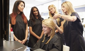 Creative Edge Training: Perm ($29) or Keratin Treatment ($65) with a Style Cut or Trim at Creative Edge Training (Up to $172 Value)