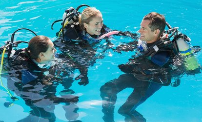 image for $259 for <strong>Scuba</strong> Diving Certification for One Person at Mac's Sports ($500 Value)