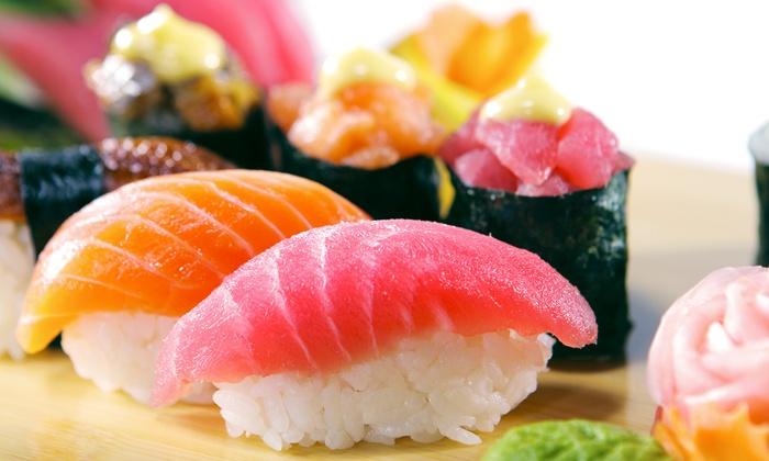 hokkaido - Gent: Onbeperkt sushi voor 2, 3 of 4 personen bij Hokkaido