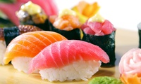 Onbeperkt sushi voor 2, 3 of 4 personen bij Hokkaido