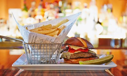 image for Burgers and Beers or Cocktails for Two or Four at Romey's Place (Up to 57% Off)