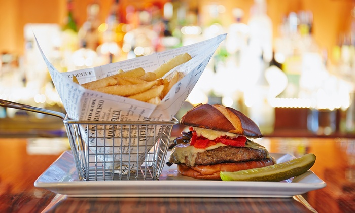 Romey's Place - Franklin: Burgers and Beers or Cocktails for Two or Four at Romey's Place (Up to 61% Off)