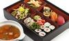 Menu sushi d'asporto