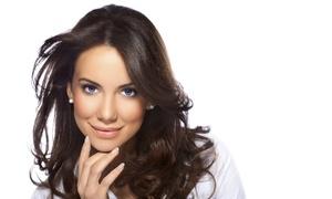 Full Moon Beauty Salon: Pamper Package for Hair, Nails and Face at Full Moon Beauty Salon (Up to 71% Off)