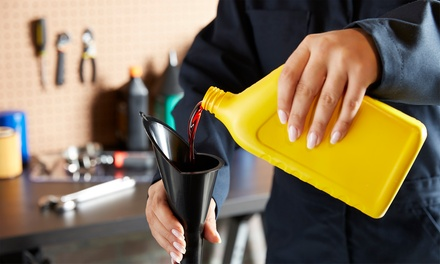 Conventional or Synthetic Oil Change at Bohemia Hand Wash (Up to 39% Off)