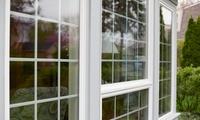 Fensterreinigung von 15 bis 30 Fenstern inkl. Rahmen, Material von Service Team Borch (bis zu 37% sparen*)