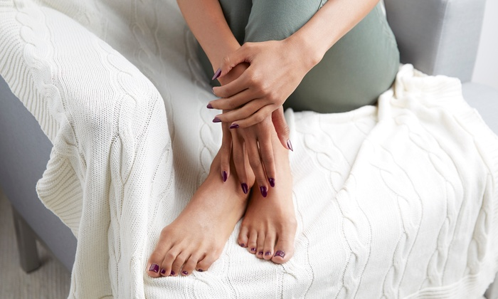 Classy Cosmo - Boulder Ridge: One or Two Mani-Pedis at Classy Cosmo (Up to 51% Off)