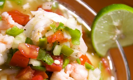 Peruvian Cuisine at El Sol Restaurant (40% Off). Two Options Available.