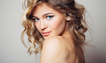 T-Bar Highlights or Full Head of Colour, Cut, Conditioning and Blow-Dry at Cross Cuts Unisex Hair and Beauty Salon