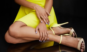 te amo hair and beauty: Shellac Manicure, Pedicure or Both at Te Amo Hair and Beauty