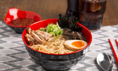 Food and Drinks for Dinner at Artisan Ramen (Up to 50% Off). Two Options Available.