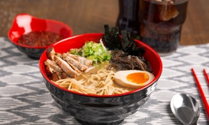 Up to 50% Off Food and Drinks for Dinner at Artisan Ramen at Artisan Ramen, plus 6.0% Cash Back from Ebates.