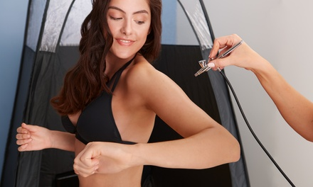 One or Three Spray-Tan Sessions at JMG Salon (Up to 37% Off)