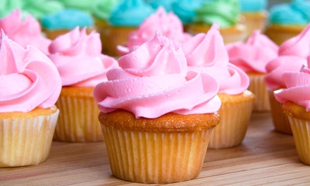 Cupcakes, Cookies, Truffles, and Other Sweets at           Cupcakes! (40% Off). Two Options Available.
