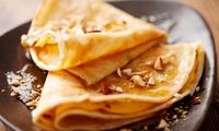 1,5 onbeperkt pannenkoeken, wafels of appelstrudel vanaf €7,49 bij Karina Broodjeshuis