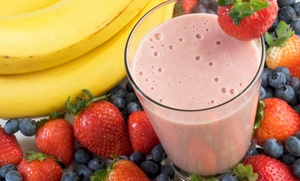 NrGize Lifestyle Cafe: $12 for $20 Worth of Smoothies at NrGize Lifestyle Cafe