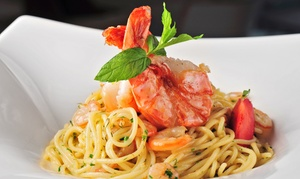 Valentinos Ristorante: $22 for $40 Worth of Italian Food and Drink for Four at Valentino's Ristorante