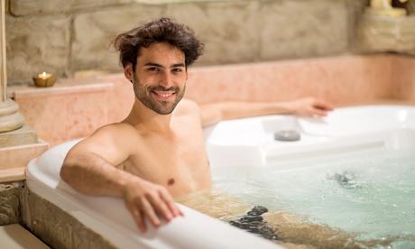 Acceso ilimitado a sauna masculina con bebida para 1, 2 o 4 personas desde 10,95 € en Sauna Sitges