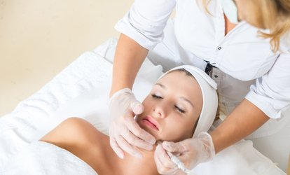 image for Microdermabrasion or Oxybrasion Facial with Alga Mask at The Beauty Rooms