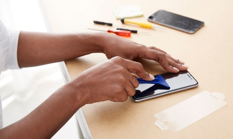 Glass and LCD Screen Repair for iPhone and iPad at Commtel Systems (Up to 62% Off). Seven Options Available. photo