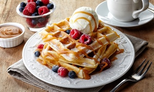 JoJo's Coffee Shop: Waffles and Milkshake for Two or Four at JoJo's Coffee Shop (42% Off)