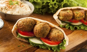 Simply Halal Foods: Mediterranean Food for Two or Four or More People at Simply Halal Foods (25% Off)