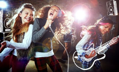 Pop Star Karaoke Party for Ten Kids at Bankie Beats Studio (68% Off)