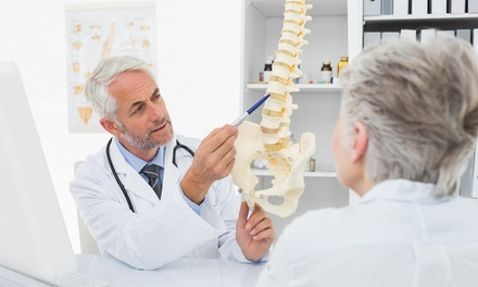 Osteopathy Consultation and Treatment, Spinal Scan and Deep Tissue Massage at Dublin City Osteopath (79% Off)