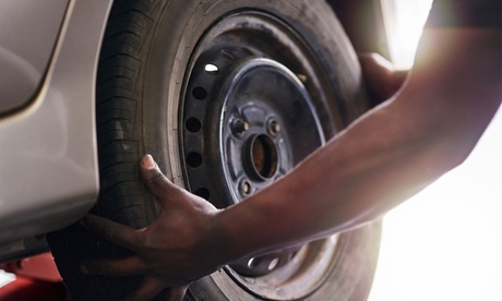 $12.15 for Tire Rotation at Discount Auto and Tire Service ($22.95 Value)