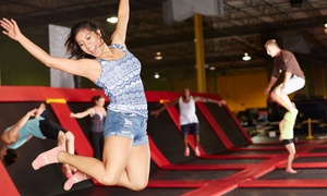 Jump Univerz: 1 heure trampoline pour 2 à 6 personnes à partir de 12,99 chez Jump Univerz