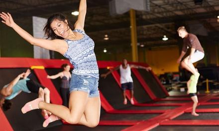 1 heure trampoline pour 2 à 6 personnes à partir de 12,99 chez Jump Univerz