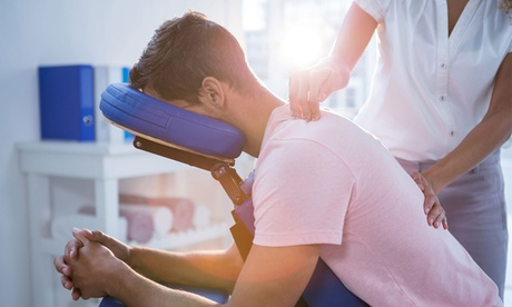 60-Minute Pain Management or Trigger Point Massage or 30-minute Chair at MASSAGE STATION LLC(Up to 65% Off)