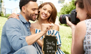 Shay Photography: Couples Photoshoot with Up to Five Images on USB Stick at Shay Photography (Up to 67% Off)